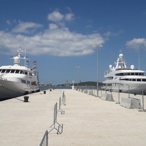 yachts u pulskoj luci 18.06.2019